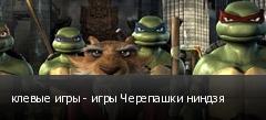 клевые игры - игры Черепашки ниндзя
