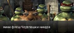 мини флеш Черепашки ниндзя