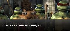 флеш - Черепашки ниндзя