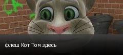 флеш Кот Том здесь