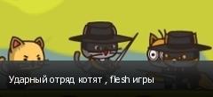Ударный отряд котят , flesh игры