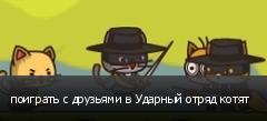 поиграть с друзьями в Ударный отряд котят