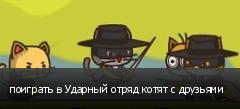 поиграть в Ударный отряд котят с друзьями