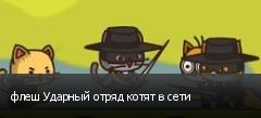флеш Ударный отряд котят в сети