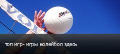 топ игр- игры волейбол здесь