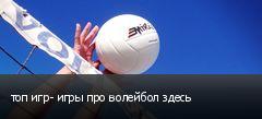 топ игр- игры про волейбол здесь