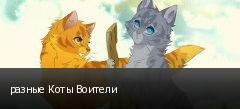 разные Коты Воители