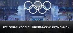 все самые клевые Олимпийские игры зимой