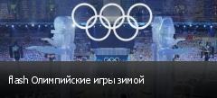 flash Олимпийские игры зимой