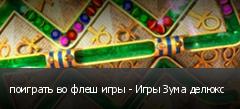 поиграть во флеш игры - Игры Зума делюкс