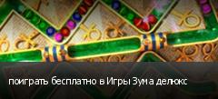 поиграть бесплатно в Игры Зума делюкс